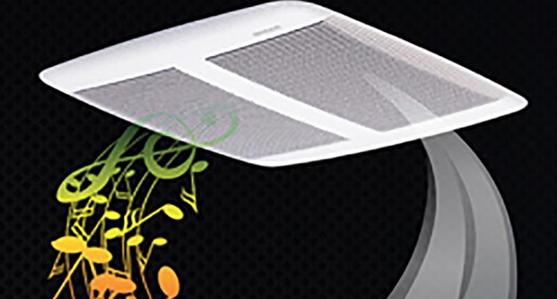 BROAN - Sensonic Speaker Fan
