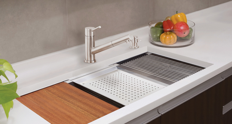 LENOVA - Ledge Prep Sink